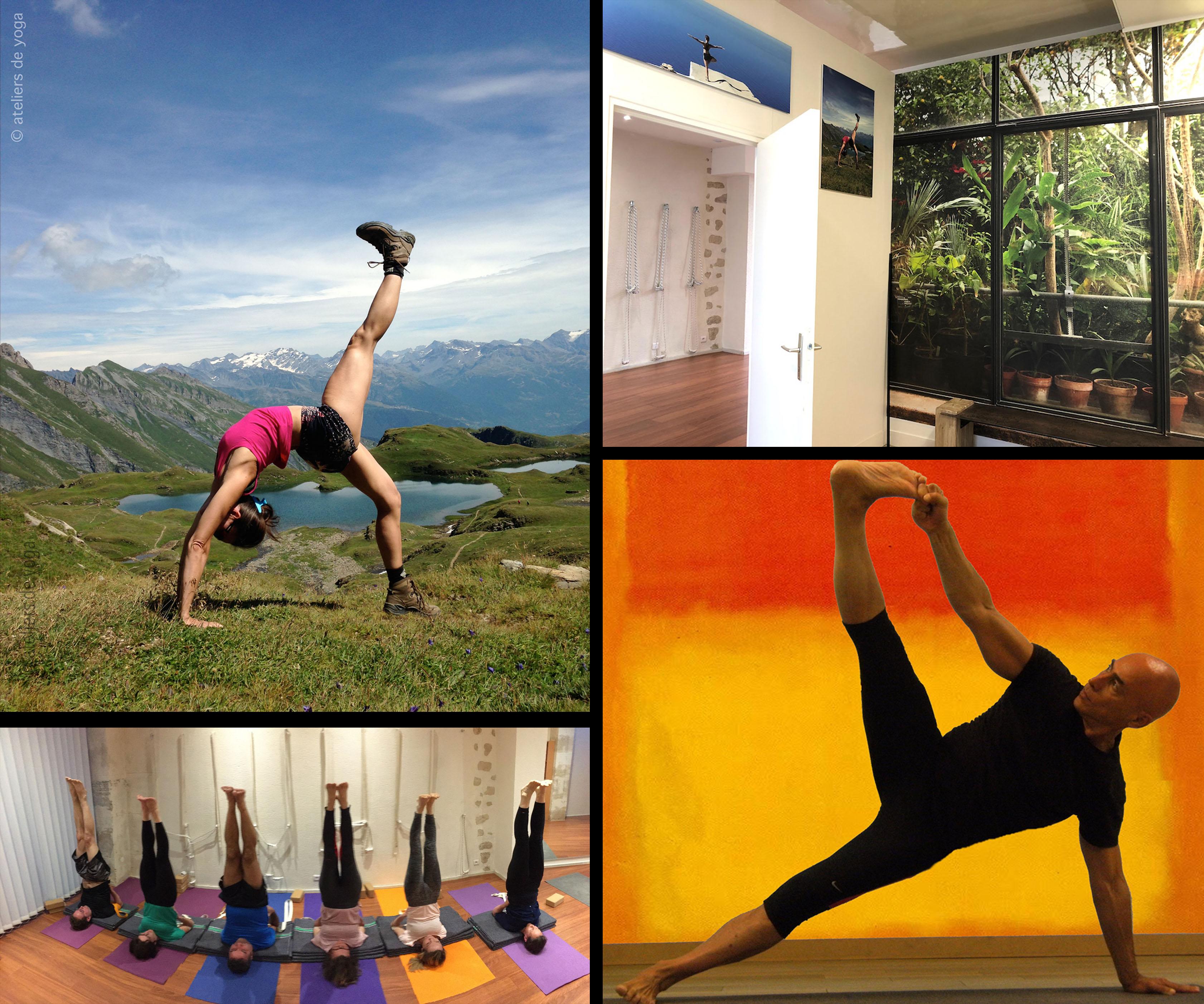 Abonnement aux leçons de yoga Iyengar Paris 14 e