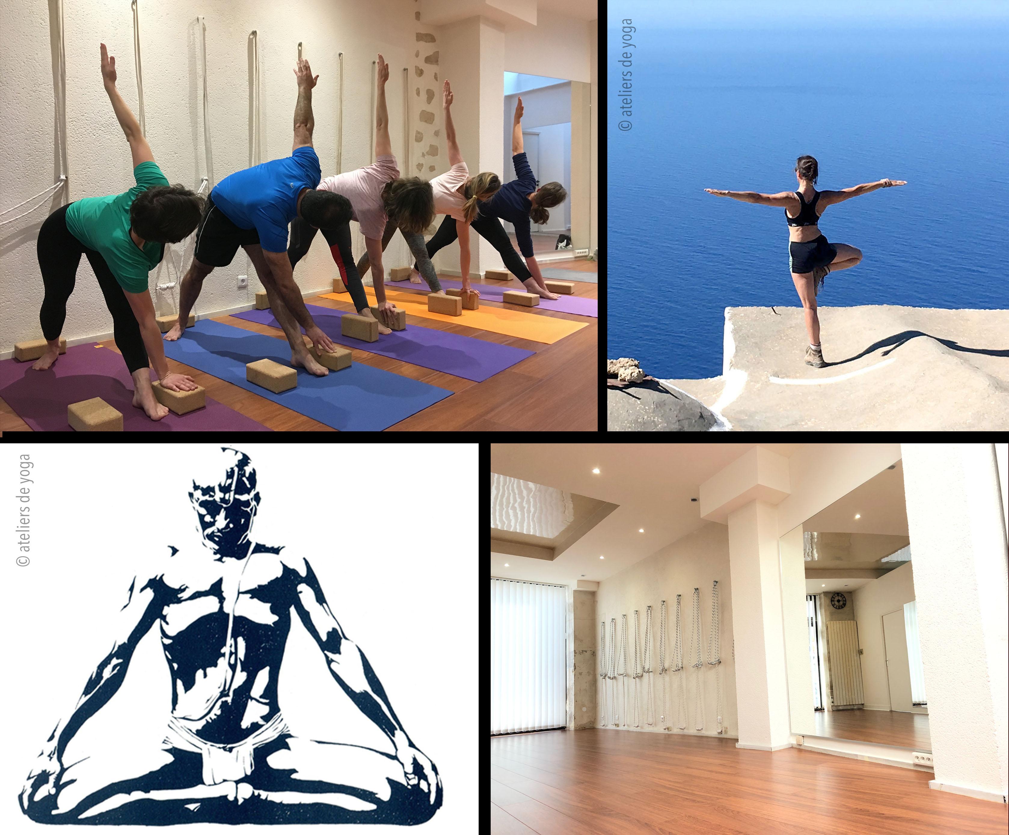 Cours de yoga paris 14ème. Pratique du Yoga Iyengar par petits groupes